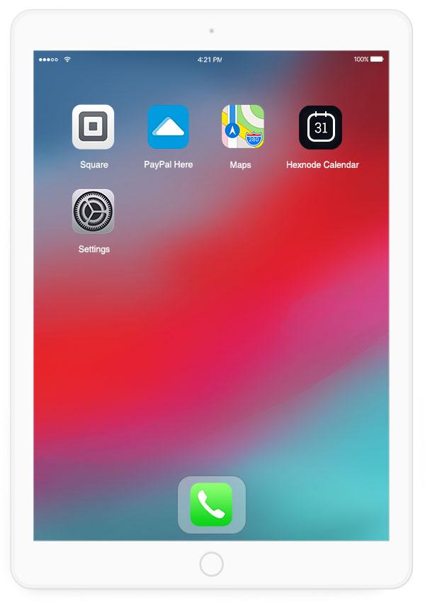 Hexnode ipad kiosk mode features