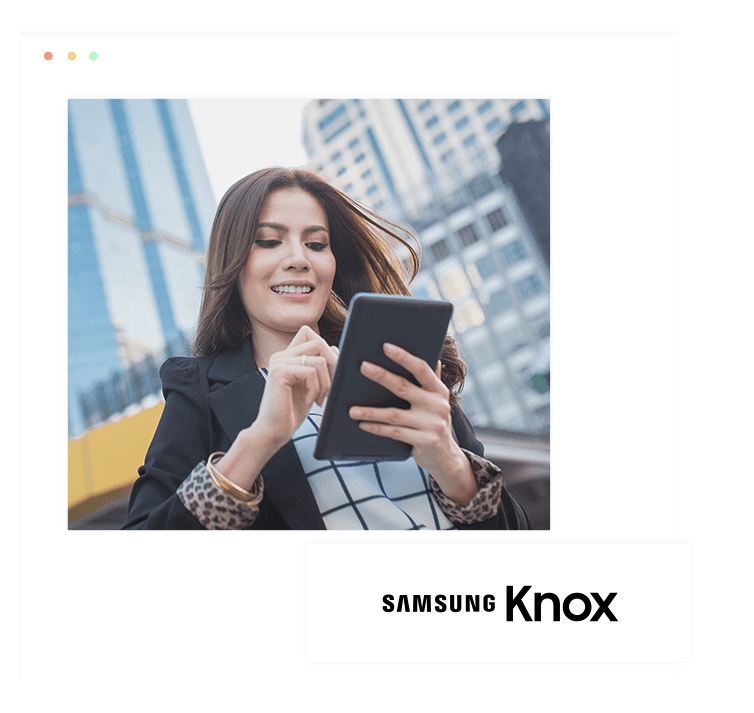 Manage Samsung Knox devices